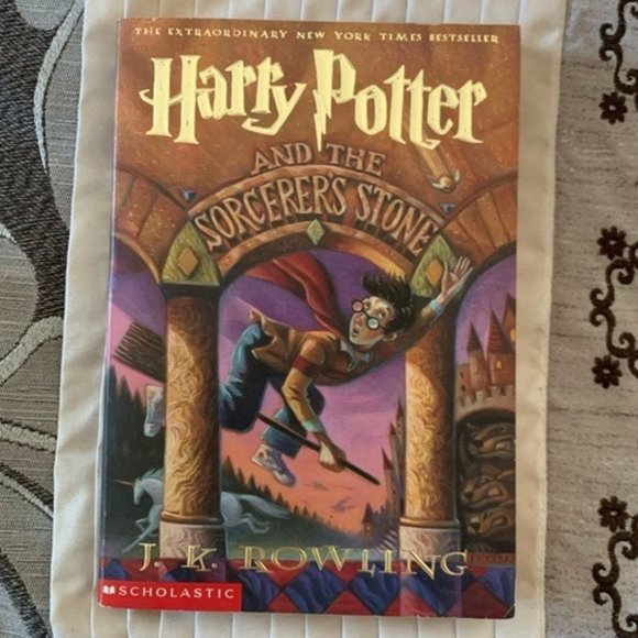 First Edition Paperback Harry Potter Book